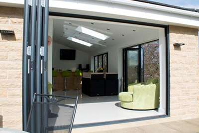 Open Bi-Folding Patio Doors & Aluminium | Bi Folding Doors | Sliding Doors | Patio Doors | Windows ...
