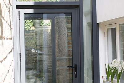 Aluminium Front Door & Entrance Doors | Clear View | Aluminium Doors | Front Doors | UK