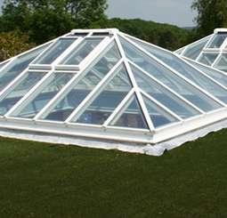 White Aluminium Roof Lantern