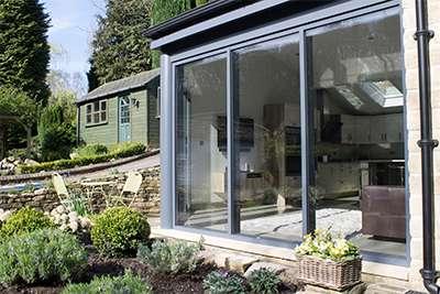 Aluminium Fixed floor to ceiling Windows In Huddersfield