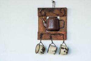 Rustic Hanging Pot Decor