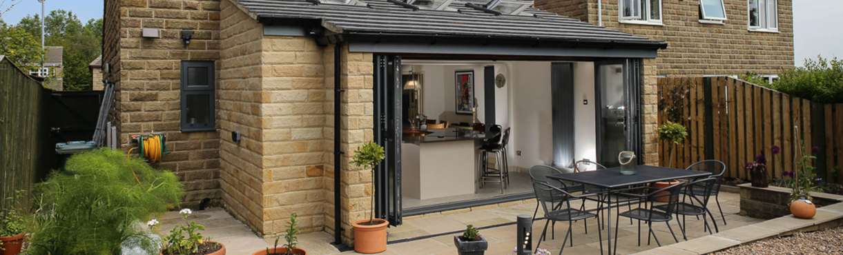 Bespoke Split Bi-Folding Patio Windows and Doors & Bi-folding | Bi-fold | Folding | Aluminium | Doors | Yorkshire | UK ...