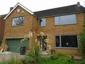 aluminium doors and windows for Sheffield homeowner
