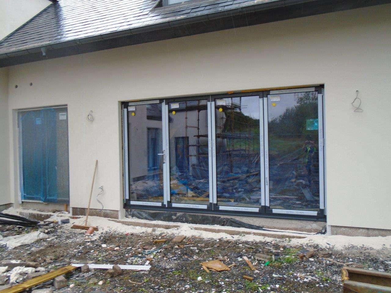 4 Pane Door Installed in New Build & Case Studies | Customers | Aluminium | Windows | Doors | Bi-folding ...