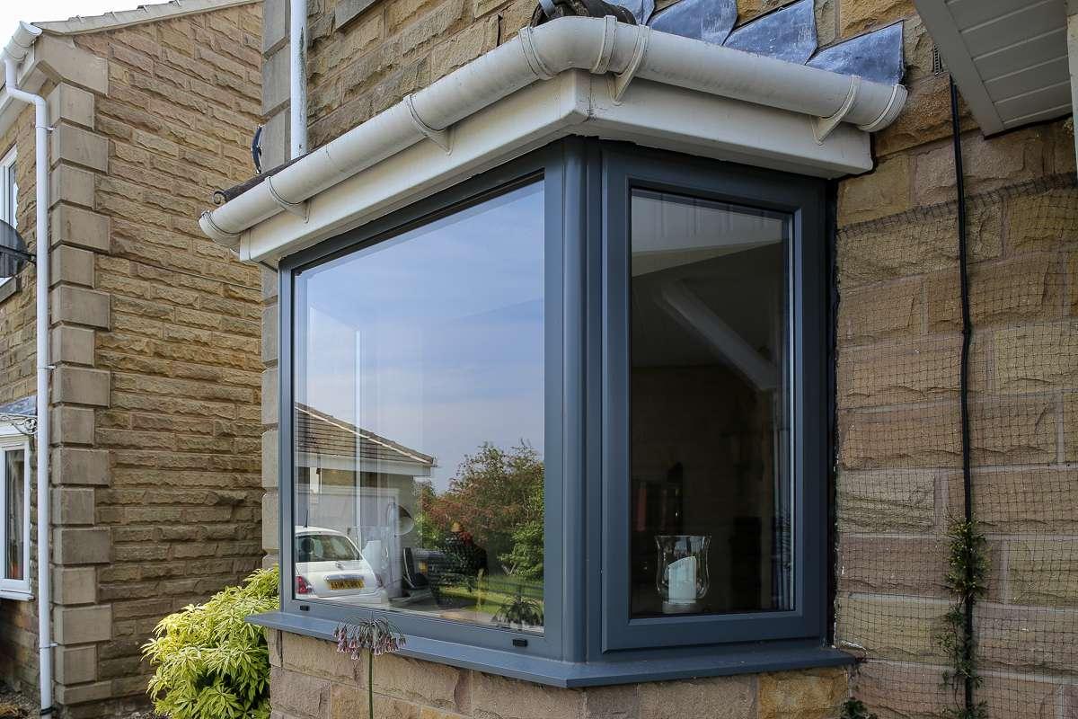 Residential Aluminium Bay Window
