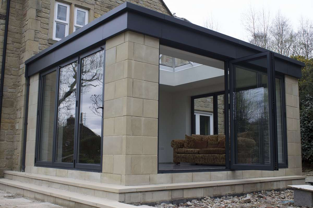 Bespoke Residential Conservatory with Bi-Folding doors