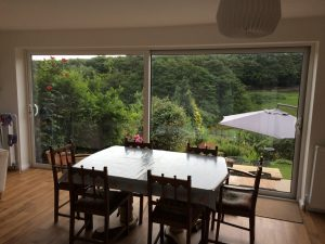 home transformed with new bifolding doors