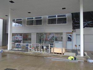 commercial shop front aluminium