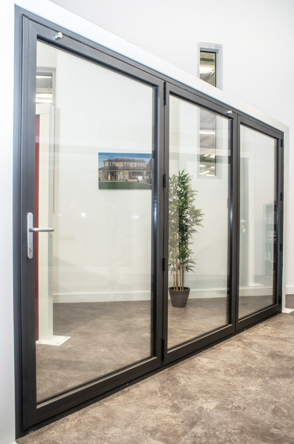 bifold products showroom yorkshire