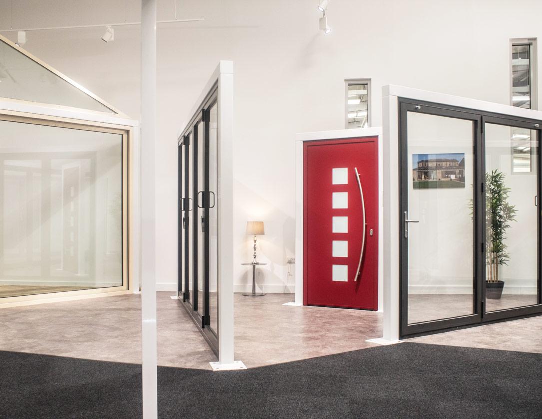 doors and windows in showroom yorkshire
