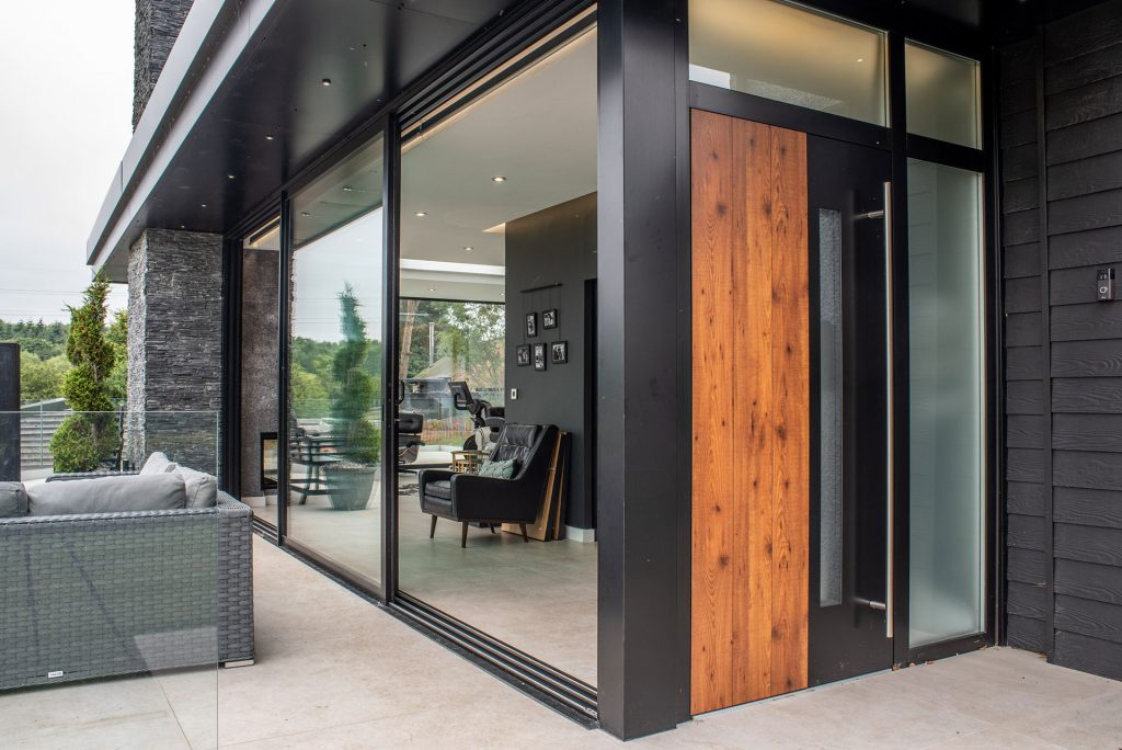 sliding doors and entrance door by clearview
